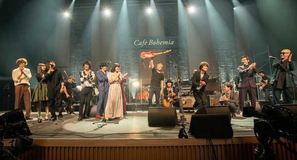佐野元春、アルバム『Café Bohemia』再現コンサートに豪華な面々が集結