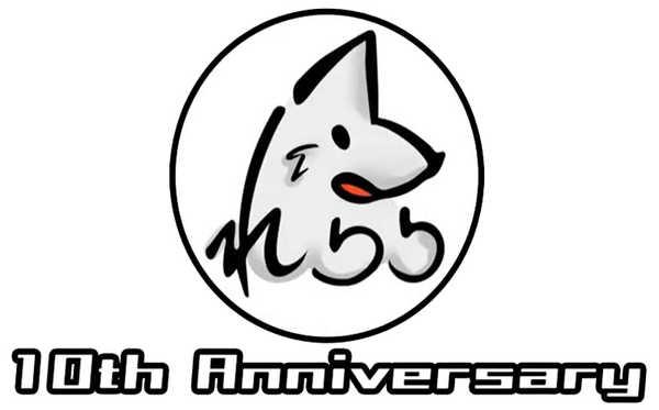 れるりり 10周年記念ロゴ