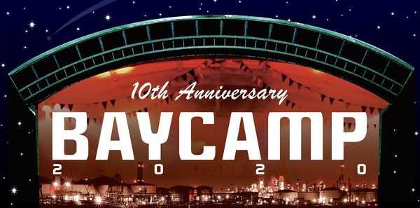 『BAYCAMP2020』開催! 第1弾出演者でフラカン、キュウソ、夜ダンら発表