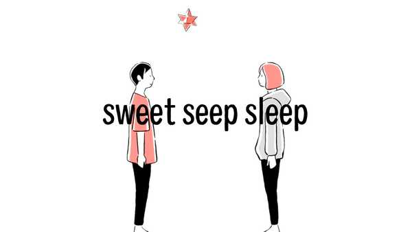 wasabi(谷口鮪×津野米咲)、各自宅でレコーディングした楽曲「sweet seep sleep」のMVを公開