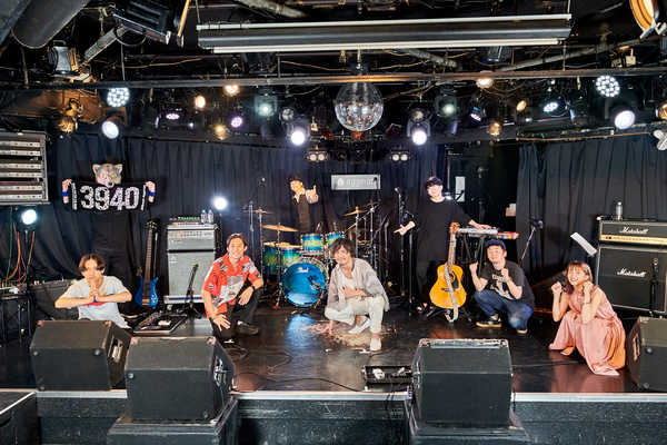 『Thank you for 39-40 the music LIVE!』集合写真