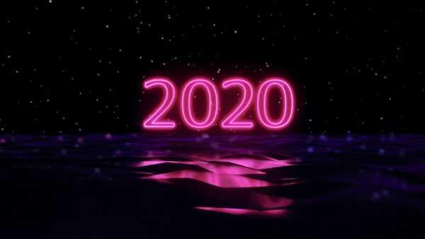 坂口有望、新曲「2020」のMVは歌詞をフィーチャーしたネオンカラーのテクノな仕上がり