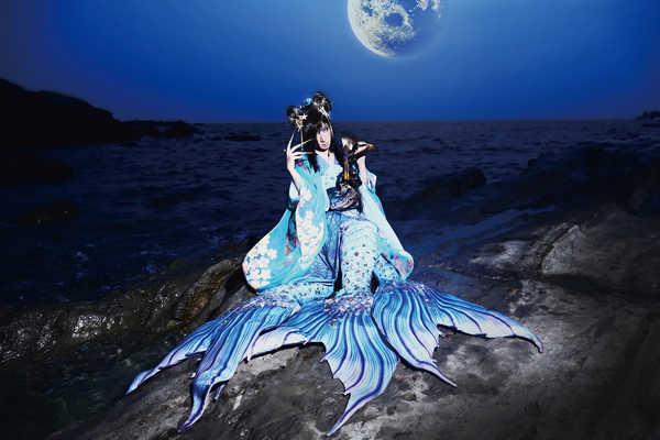ASAGI、アマビヱに扮し美しく歌い上げる新曲「アマビヱ」のMVを公開