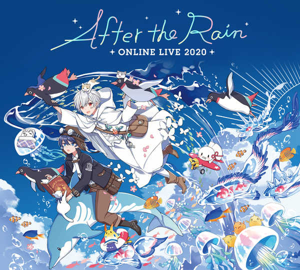 『After the Rain ONLINE LIVE 2020』メインビジュアル&ロゴ