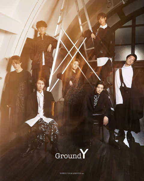7ORDER×Ground Y Photographed by Masatoshi Yamashiro