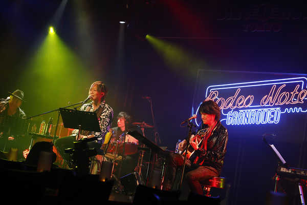 """『GRANRODEO Live Session """"Rodeo Note"""" vol.1』 Photo by キセキミチコ"""