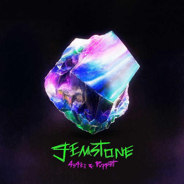 配信シングル「gemstone feat. Puppet」